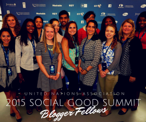 Click to learn about the 2015 UN Association Blogger Fellows