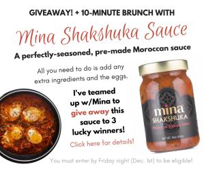 Mina Shakshuka Giveaway