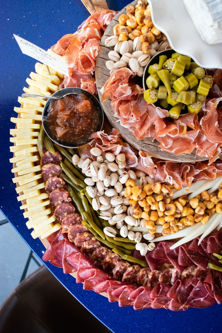 Charcuterie Board Set-up by Cheese Monster DC at A Presto Italian Foods' Pop-up Dinner Event   Washington, DC Event Photographer