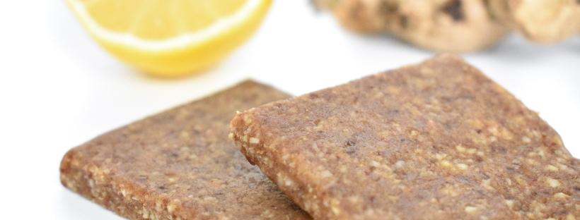 RICHbars Washington DC Product Photography for Social Media and Website: Lemon Ginger Bar