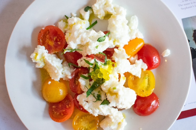 Caprese at A Presto Italian Foods' Pop-up Dinner Event | Washington, DC Event Photographer