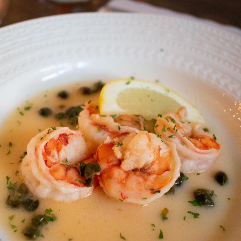 Shrimp Course at at A Presto Italian Foods' Pop-up Dinner Event   Washington, DC Event Photographer