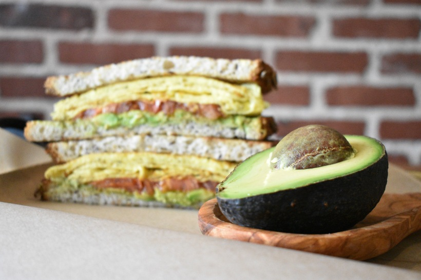 Java Nation Kensington Maryland Product, Coffee and Food Photography: Avocado Egg Sandwich