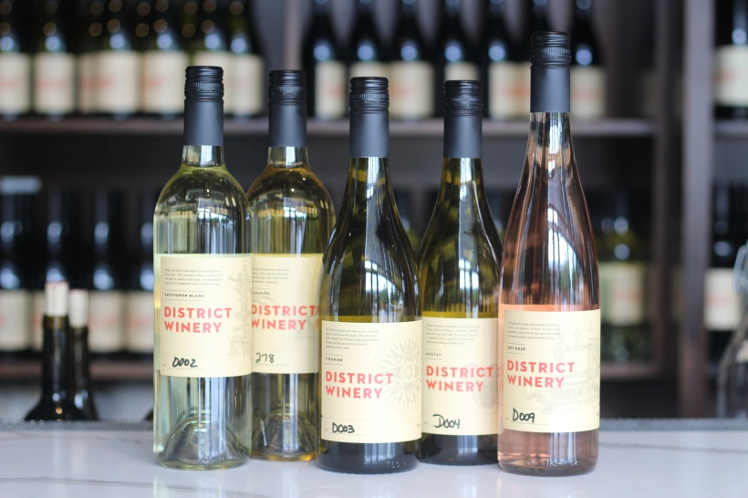 District Winery Tasting Bar Photography: Wine Bottles