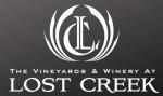 Lost Creek Logo on Dark BG