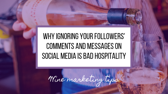 Why Ignoring Your Followers' Comments and Messages on Social Media is Bad Hospitality